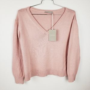 Everlane v-neck sweater sz. L